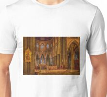 1106 Inside St Patricks Cathedral Unisex T-Shirt