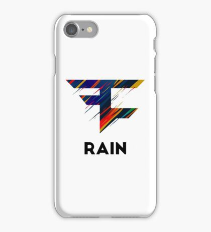 OFFICIAL FaZe Rain Apparel  iPhone Case/Skin