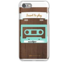 press play iPhone Case/Skin