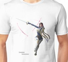 League of Legends Fiora Character. Unisex T-Shirt