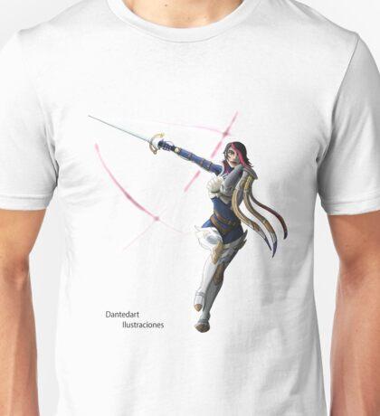 League of Legends Fiora Character. Unisex T-Shirt