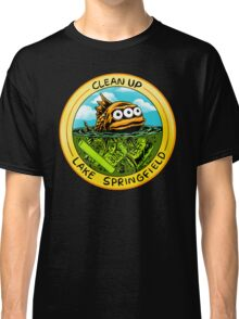 Clean Up Lake Springfield! Classic T-Shirt