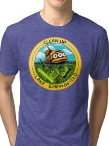 Clean Up Lake Springfield! Tri-blend T-Shirt