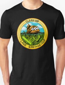 Clean Up Lake Springfield! Unisex T-Shirt