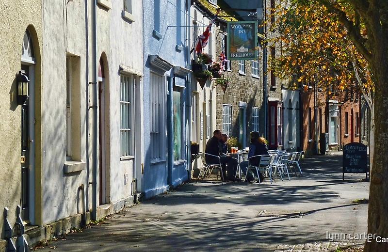 Street Scene In Bridport Dorset, UK by lynn carter