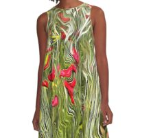Poisoned Poppies A-Line Dress