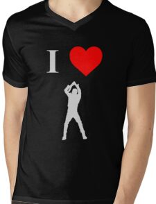 I love Negan Mens V-Neck T-Shirt