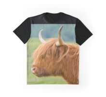 Highland Cow Graphic T-Shirt