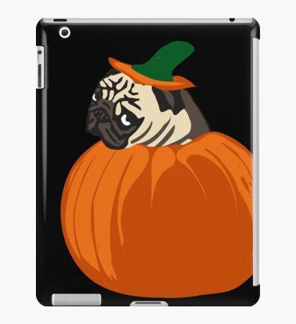 pumpkin pug iPad Case/Skin