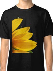 SUNFLOWER PETALS IN DARK SETTING Classic T-Shirt