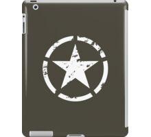 military star grunge iPad Case/Skin
