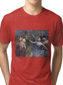 Edgar Degas - Dancer With A Tambourine Tri-blend T-Shirt
