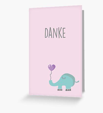 Valentina, die kleine Elefantin Greeting Card