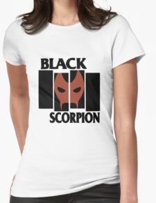 Black Scorpion Womens Fitted T-Shirt
