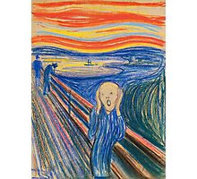 Edvard Munch - The Scream Pastel Photographic Print