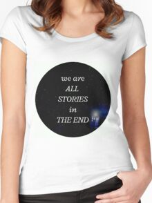 All stories Women's Fitted Scoop T-Shirt