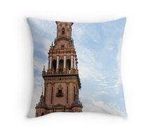 Plaza de Espana Tower Throw Pillow