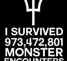 I SURVIVED....MONSTER ENCOUNTERS by heyitschelsey