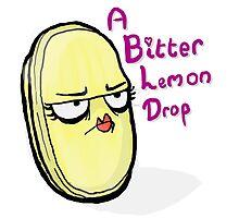 Bitter Lemon Drop Photographic Print