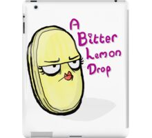 Bitter Lemon Drop iPad Case/Skin