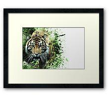 Tiger Ready Framed Print