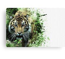 Tiger Ready Canvas Print