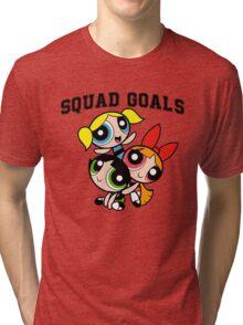 Powerpuff Squad Tri-blend T-Shirt