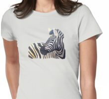 Stripes Womens Fitted T-Shirt
