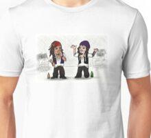 Jack Sparrow vs Ville Valo Unisex T-Shirt