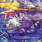Illusion of Grandeur 2 - Original mixed media Abstract painting by Dmitri Matkovsky