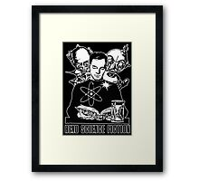 Read Science Fiction Framed Print