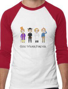 Gene Wilder Forever Men's Baseball ¾ T-Shirt