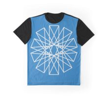 Spinning Rectangle Graphic T-Shirt