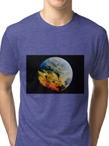 Stormy planet Tri-blend T-Shirt