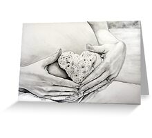 HEART OF MY LOVE Greeting Card