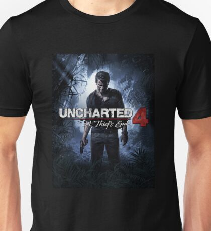 Uncharted 4 : A Thief's End Video Game  Unisex T-Shirt