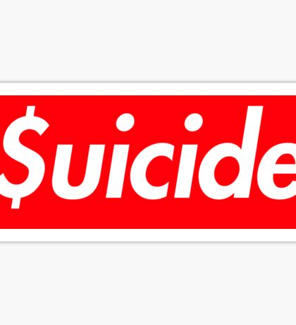 Suicide (SUICIDEBOYS Supreme) Sticker