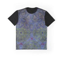 Mandala - Deep Ocean Graphic T-Shirt