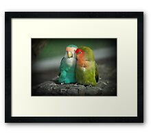 It Must Be Love, Love, Love ... Framed Print