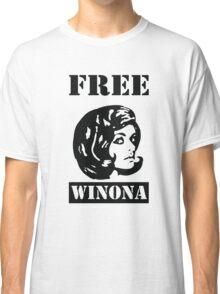 Winona Ryder - Free Winona Classic T-Shirt