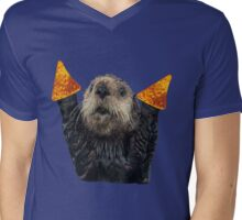 Dorito Otter Mens V-Neck T-Shirt