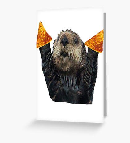 Dorito Otter Greeting Card