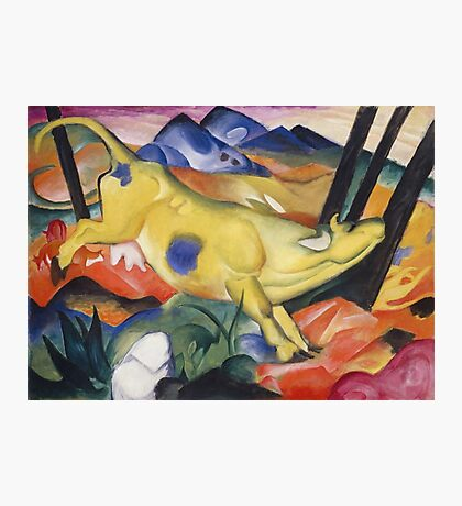 Franz Marc - Yellow Cow  Photographic Print