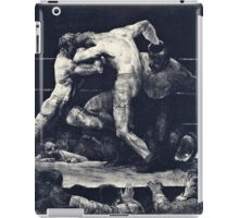 George Wesley Bellows  A Stag At Sharkeys  iPad Case/Skin