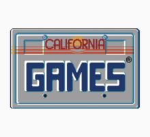 CALIFORNIA GAMES - SEGA MASTER SYSTEM Kids Tee