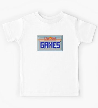 CALIFORNIA GAMES - SEGA MASTER SYSTEM Kids Tee
