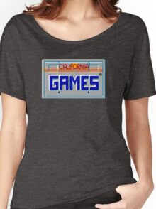 CALIFORNIA GAMES - SEGA MASTER SYSTEM Women's Relaxed Fit T-Shirt