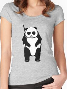 hunting bears Women's Fitted Scoop T-Shirt