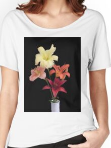 Lily Colours Women's Relaxed Fit T-Shirt