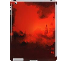 A digital painting of the Blitz in London 1940, WW2 iPad Case/Skin